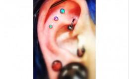 Tripple ear piercing