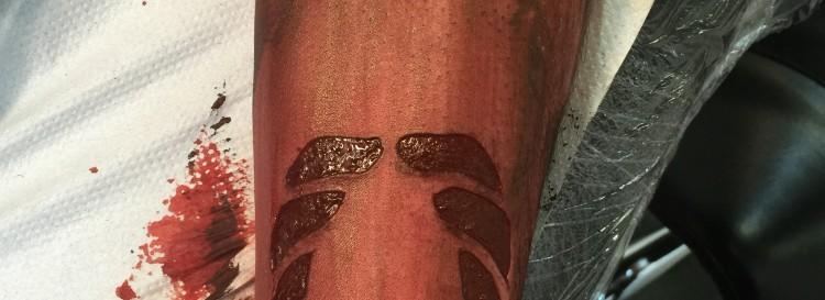 Ink rubbing